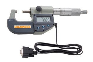 Micrômetro Externo Digital IP54 - 175mm -200mm Com saída de dados RS232 - Digimess