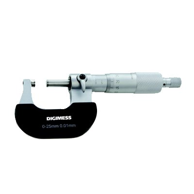 Micrômetro Externo (Arco Aço Pintado) - 125-150mm - Leit. 0,01mm - Digimess