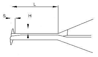 Medidor Interno com Relógio - 40-60mm - Leit. 0,01mm - Digimess