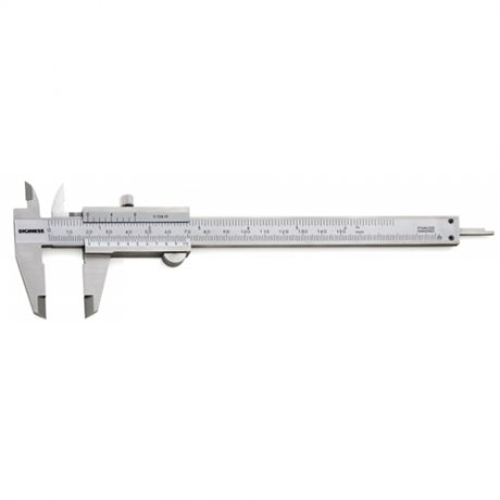 Paquímetro Universal Quadrimensional Com Guia de Titânio - 150mm - Leit. 0,02mm - Digimess