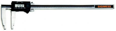 Paquímetro Digital (Bicos 300mm) - 500mm - Leit. 0,01mm - Digimess