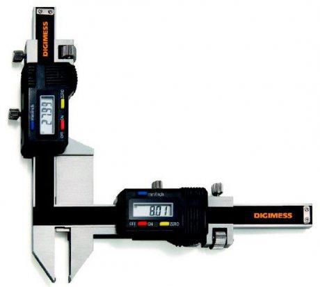 Paquímetro Digital (Dentes de Engrenagens) - 5-50mm - Digimess