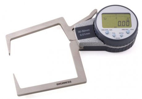 Medidor Externo com Relógio Digital - 0-10mm - Leit. 0,001mm - Digimess