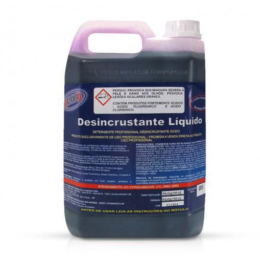 Desincrustante Líquido LIMPA BAÚ - 5 litros - Detersid