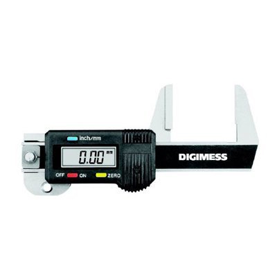Medidor de Espessura Digital Vertical - 0-30mm - Leit. 0,01mm - Digimess