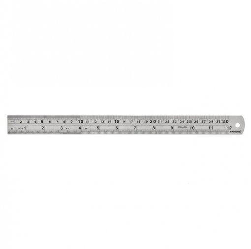 Escala de Aço Inoxidável Graduada -  1500 x 38 x 1,5mm -  Kingtools