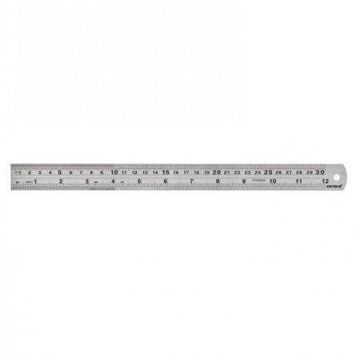 Escala de Aço Inoxidável Graduada -  500 x 28 x 1mm -  Kingtools