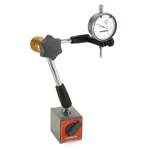 Suporte Magnético Articulado para Relógios Comparadores e Apalpadores - Digimess - 270.240B