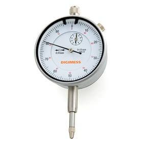 Relógio comparador (Mostrador 56mm) - 0-25mm  - Digimess - 121.315