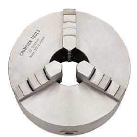 Placa para Torno com 3 Castanhas Universais (Ferro Fundido) - 160mm - Champion Tools