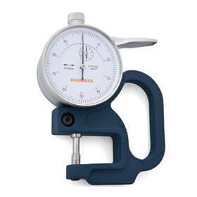 Medidor de Espessura (Arco 30mm) - 0-10mm - 0,01mm - Digimess