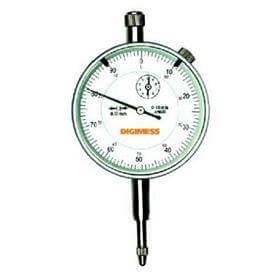 Relógio comparador (Mostrador 58mm) - 0-10mm  - Digimess - 121.302
