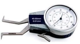 Medidor Interno com Relógio - 30-40mm - Leit. 0,01mm - Digimess
