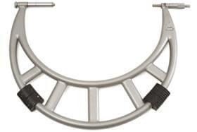 Imagem - Micrômetro Externo com Batente Deslizante - 400-500mm - Leit. 0,01mm - Digimess cód: DIG-110.224