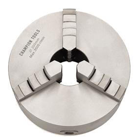Placa para Torno com 3 Castanhas Universais (Ferro Fundido) - 200mm - Champion Tools