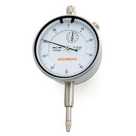 Relógio comparador (Mostrador 58mm) - 0-50mm - Digimess - 121.322