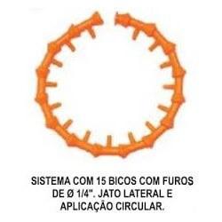 Imagem - Jogo Sistema de Bicos com Jato Lat. e Aplicação Circular 10-A - Fixoflex cód: TAP-AU10