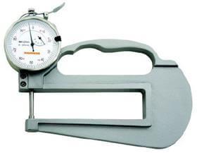 Medidor de Espessura (Arco 120mm) - 0-20mm - 0,01mm - Digimess