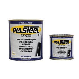 Solda a frio Plasteel Líquido 3:1 - 1,32 Kg - PL2 - Tapmatic