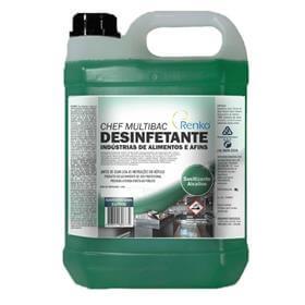 Chef Multibac Detergente Desinfetante 5 Litros - Renko