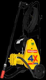Imagem - Lavadora Profissional para Lava Rápidos 450PSI - 1HP - Hydronlubz cód: HYD-MB0147-C