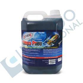 Imagem - Limpa Pneu (Pretinho Pronto Uso) - 5 litros - Detersid cód: DET-LP49