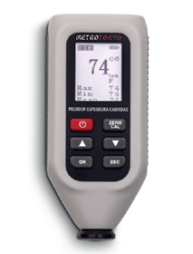 Medidor de Espessura de Camadas de Tinta - MTK-1210 - Metrotokyo
