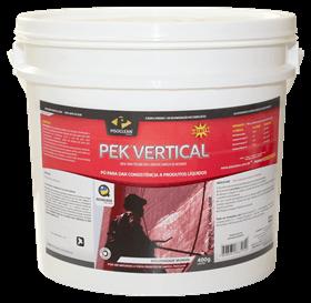 Pek Vertical - Solução para a limpeza de fechadas - 400 g - Pisoclean