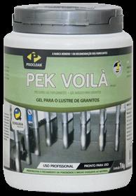 Pek Voilà - Gel para o lustre de granitos e similares - 1Kg - Pisoclean