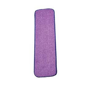 Refil de Microfibra para Spray Mop Roxo - Limpeza Leve - Bralimpia