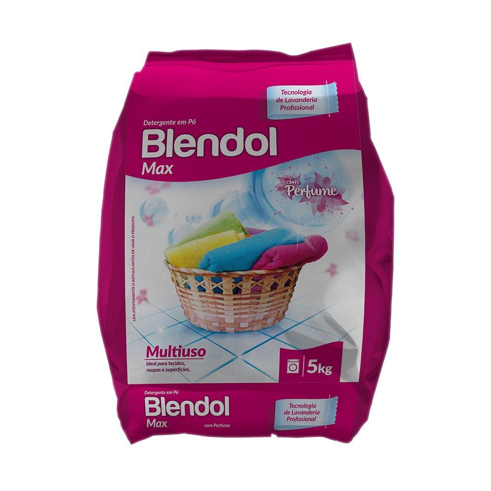 Detergente Blendol Max Com Perfume 5kg Diversey
