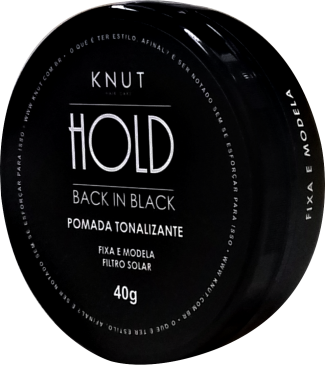 BACK IN BLACK: Pomada Tonalizante KNUT 40g