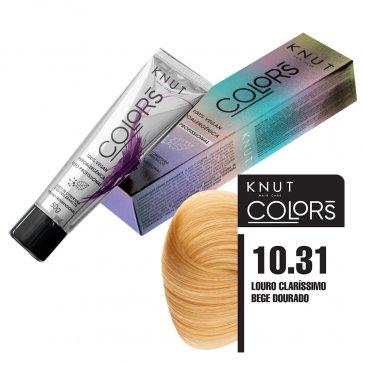 KNUT Colors 50g – Louro Claríssimo Bege Dourado 10.31