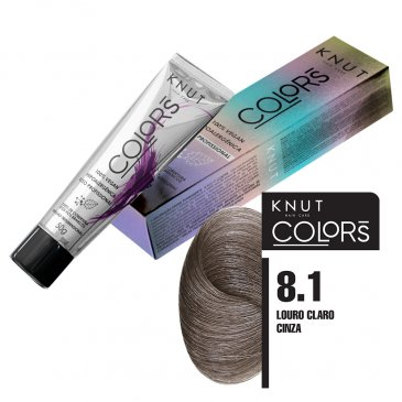 KNUT Colors 50g – Louro Claro Cinza 8.1