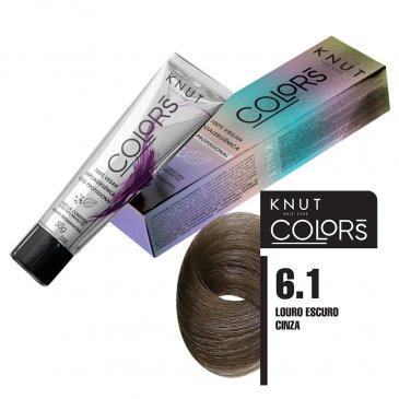 KNUT Colors 50g – Louro Escuro Cinza 6.1