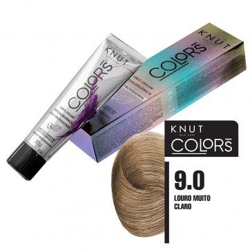 KNUT Colors 50g – Louro Muito Claro 9.0