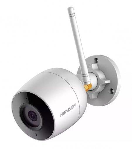 Câmera de Segurança Bullet B1 WiFi 2MP Infravermelho 1080p Hikvision DS-2CD2023GOD-IW2