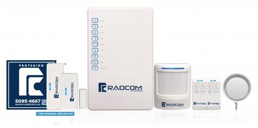 Kit de Alarme Sem Fio Radcom CONNECT