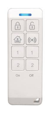 Smart Controle Alarme e Automação 8 Teclas Radcom Connect 730-0786