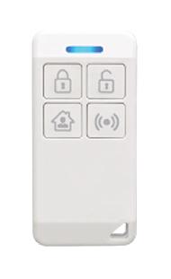 Imagem - Smart Controle Remoto 4 Teclas Radcom Connect 730-0764 cód: 347