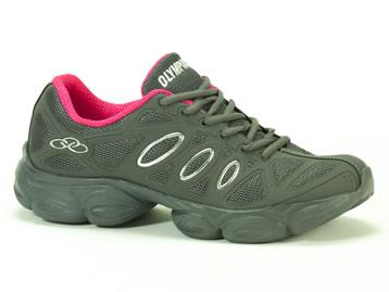 Tenis Olympikus Running Chumbo Pink STRONG 923