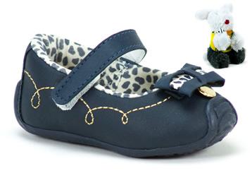 Sapato Klin  Azul/Marinho-Laranja 144.003011