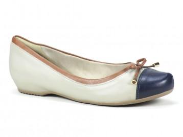 Sapato Comfortflex Off White 1584304
