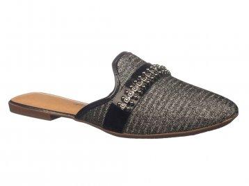 Sapato Mississipi Mule Preto X6345