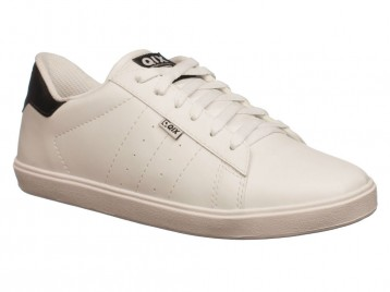 Tenis Qix Skate Branco Preto CLASSIC 107812