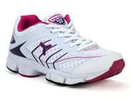 Tenis Tryon Running Branco Roxo Pink CAPRI III W