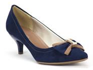 Sapato Azaleia Social Azul 700