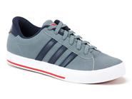 Tenis Adidas Skate Cinza Azul Marrom SE DAILY VULC F38542