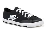 Tenis Nike  Preto/Preto-Branco GO (PS) 526138