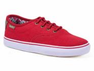 Tenis Freeday Skate Vermelho RISE GIRLS 27168